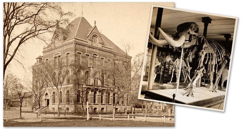 1866-1876 - Original Peabody Museum