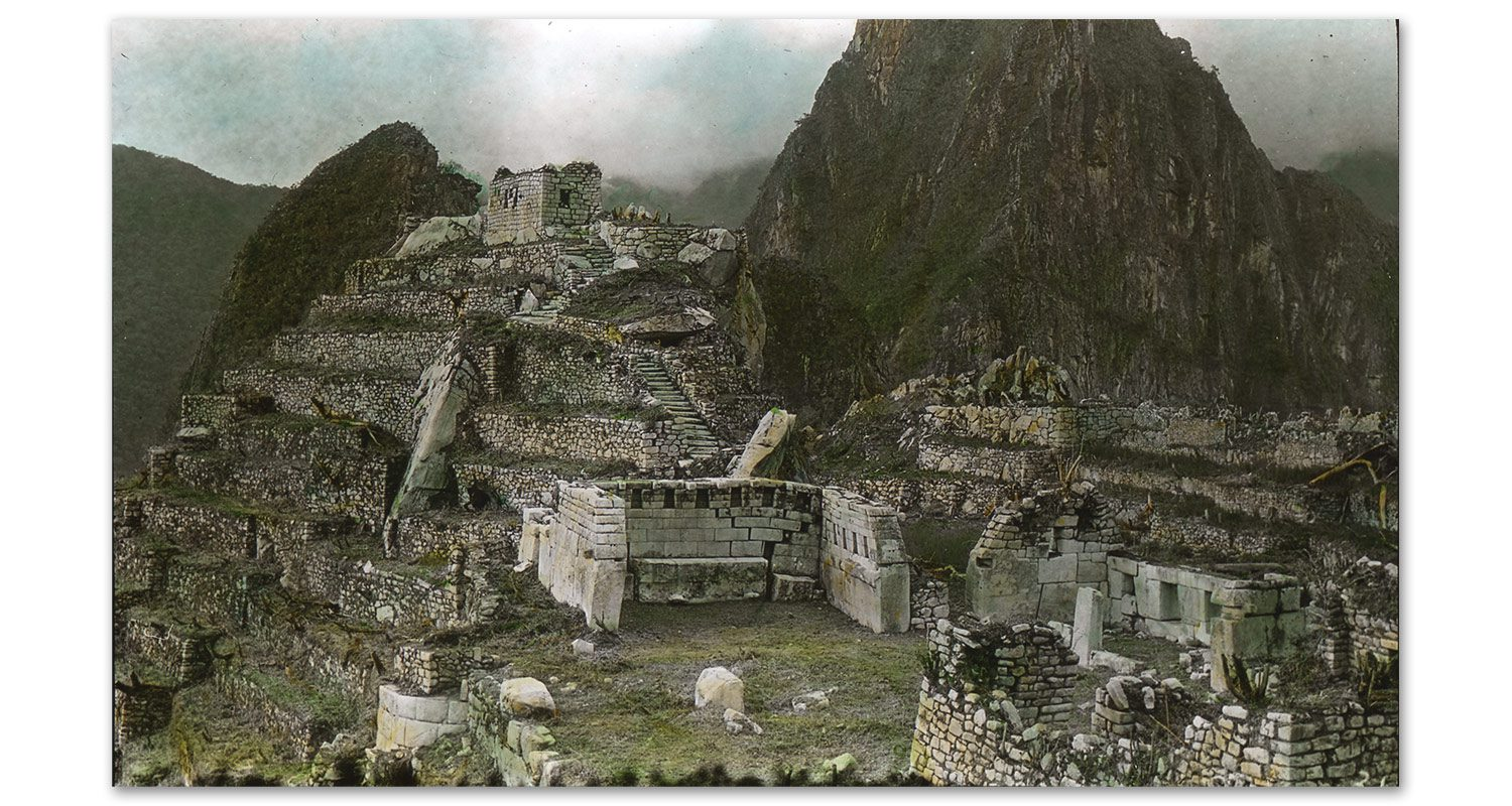 1911 - Expedition to Machu Picchu