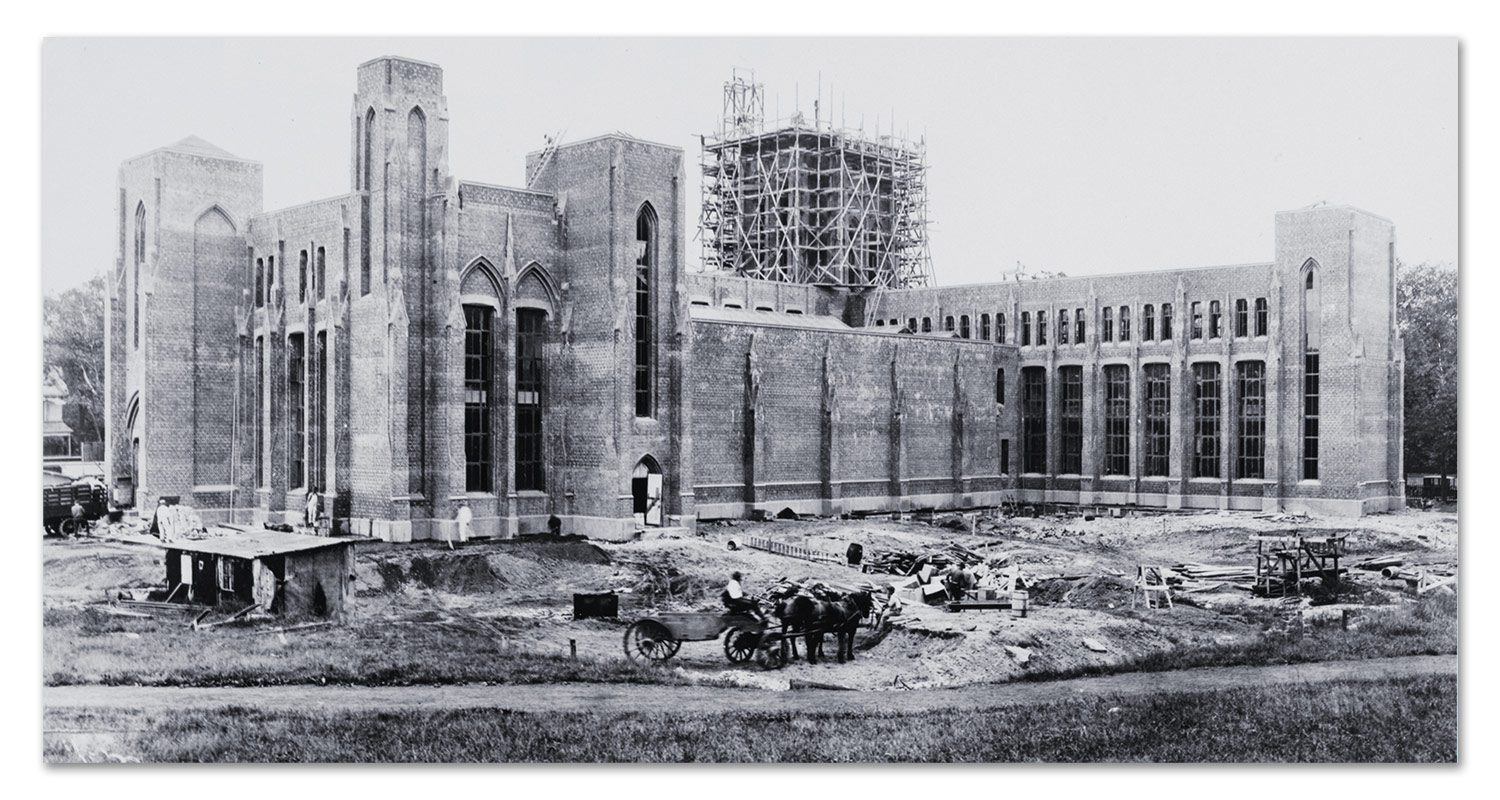 1917-1925 - Current Museum Construction Finished