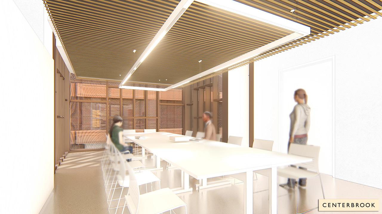 Second-Floor Classroom