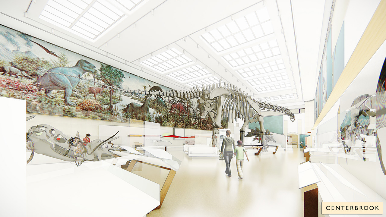 Great Hall of Dinosaurs