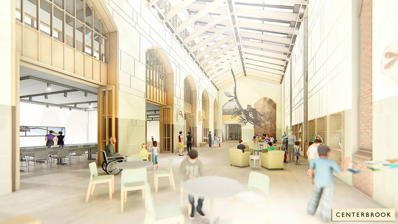 Rendering of the new Central Gallery